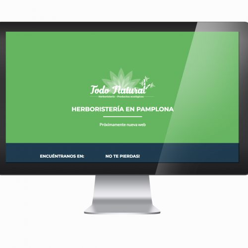 Microsite Todo Natural