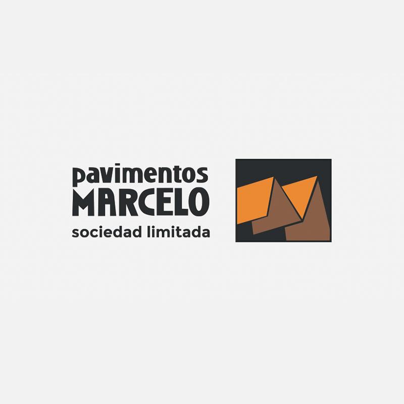 Logo de pavimentos Marcelo