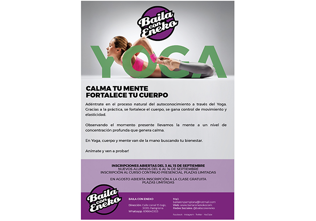 Campaña de marketing para Baila con Eneko